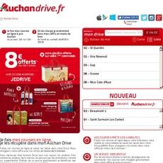 Réductions et promotions chez Auchan drive