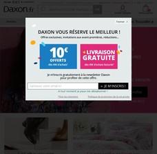 code promo daxon belgique r duction daxon belgique. Black Bedroom Furniture Sets. Home Design Ideas