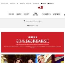 Réductions et promotions chez H&M