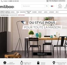 economisez code promo miliboo 2018 20 de r duction. Black Bedroom Furniture Sets. Home Design Ideas