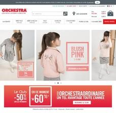 Réductions et promotions chez Orchestra