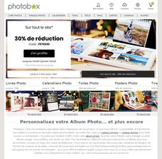 Réductions et promotions chez Photobox