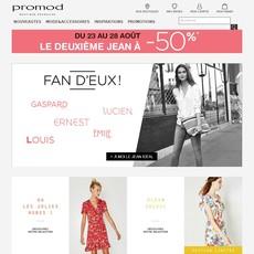Réductions et promotions chez Promod
