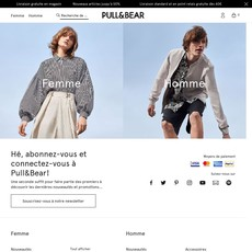 Coupons reduction pull & bear