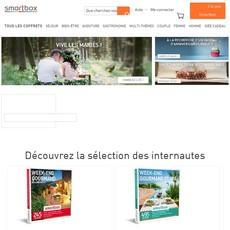 Réductions et promotions chez Smartbox