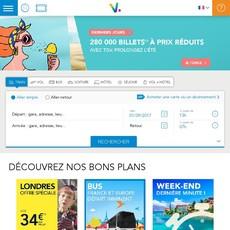 Réductions et promotions chez Voyages SNCF